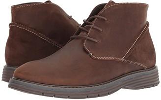 Nunn Bush Littleton Plain Toe Chukka (Brown) Men's Lace up casual Shoes