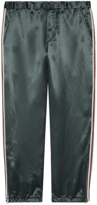 Gucci Acetate relaxed trousers