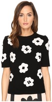 Kate Spade Floral Intarsia Sweater Women's Sweater