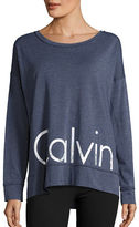 Calvin Klein Moisture-Wicking Long-Sleeve Performance T-Shirt