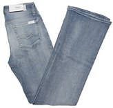 7 For All Mankind Women's Short Bootcut Jeans in Powder (29)
