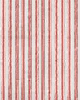 Serena & Lily Barn Red Ticking Stripe Pillowcases Set of 2