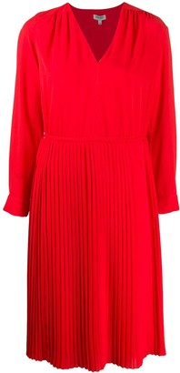 Kenzo Pleated Midi Dress