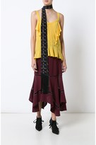 Derek Lam Lace Inset Handkerchief Skirt