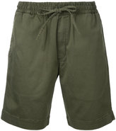 YMC 'Jay' drawstring shorts - men - Cotton/Spandex/Elastane - XS