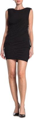 Lush Ruched Side Sheath Dress