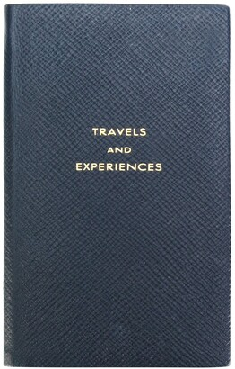 Smythson Travels & Experiences notebook