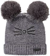 Karl Lagerfeld Tricot Blend Wool Hat W/ Lurex
