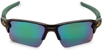 Oakley Green Bay Packers 59MM Flak Polarized Sunglasses