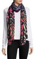 Bindya Mix Animal Printed Stole