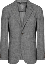 Camoshita Slim-Fit Puppytooth Wool Blazer