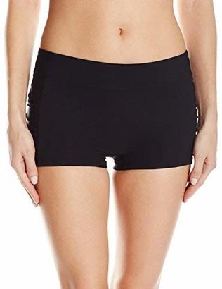 Christina Women's Solid Boyleg Bikini Bottom