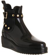 Lemon Jelly Vix Wedge Buckle Boots