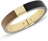 Michael Kors Wooden Hinged Bracelet, Black