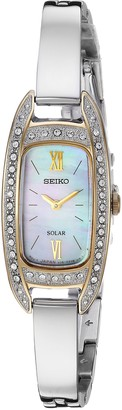 Seiko Women's Jewelry Japanese-Quartz Watch with Stainless-Steel Strap