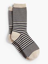 Talbots Stripes Trouser Sock