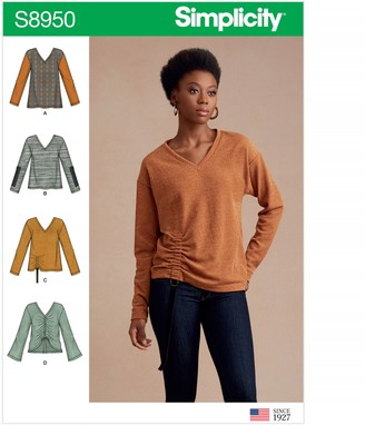 Simplicity Women's Jumper Sewing Pattern, 8950