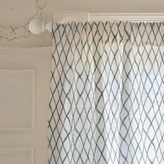 Minted Criss-Crossed Curtains