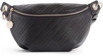 Givenchy Bond Logo Embossed Leather Belt Bag