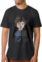 ^GinaR^ Manu ^GinaR^ Men's Bob Dylan Fashion Short Sleeve M