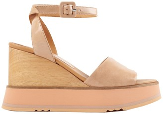 Paloma Barceló Leather Wedges