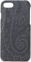 Etro baroque pattern iPhone 7 case - unisex - Cotton/Nylon/Polyester/PVC - One Size
