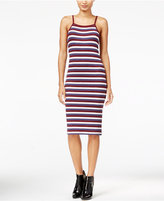 Kensie Striped Bodycon Dress