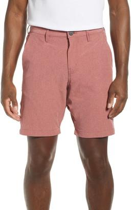 Vintage 1946 Heathered Stretch Hybrid Shorts