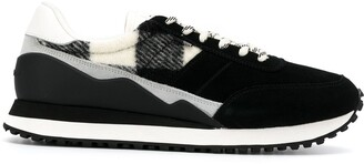 Woolrich knitted detail sneakers