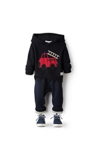 Country Road Fire Engine Hoodie
