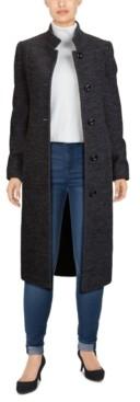 Jones New York Single-Breasted Maxi Coat