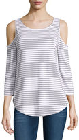 Arizona Cold Shoulder Top- Juniors