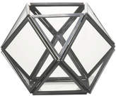 Parlane Ness Glass Terrarium Tealight Holder - Silver (11 x 10.5cm)