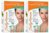 Sally Hansen Extra Strength Hair Bleach - Face & Body - 2 Pack