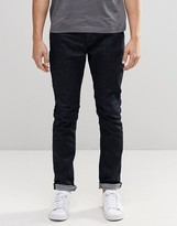 ONLY & SONS Indigo Slim Fit Jeans with Stretch
