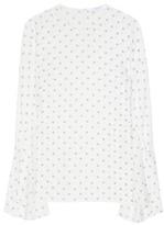 Givenchy Printed Silk Blouse