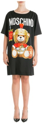 Moschino Roman Teddy Bear Mini Dress