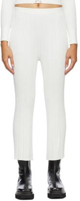 Dion Lee SSENSE Exclusive White Float Lounge Pants