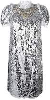Dolce & Gabbana sequinned embellished dress