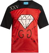 Gucci GucciGhost-print mesh T-shirt