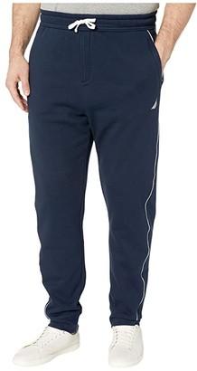 Nautica Big Tall Knit Track Pants (Blue) Men's Casual Pants