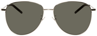 Saint Laurent Silver SL 328/K Sunglasses