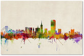 "'San Francisco Skyline' Canvas Print by Michael Tompsett, 16"" x 24"