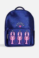 Skinny dip **lobster charlie backpack