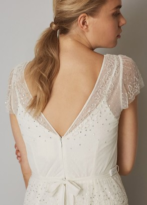Phase Eight Nyelle Layered Wedding Dress