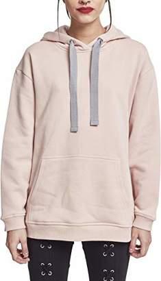 Urban Classic Women's Ladies Oversize Hoody Hooded Sweatshirt,M