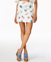 Endless Rose Printed Mini Skirt