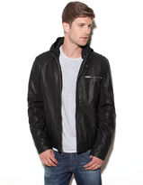 GUESS Patterson Faux-Leather Jacket