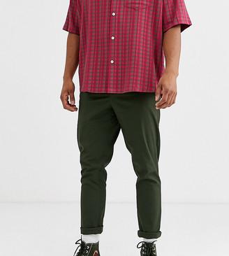 Noak tapered chino in khaki-Green