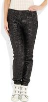 Karl Lagerfeld Sequined legging-style pants